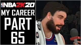 "NBA 2K20 - My Career - Let's Play - Part 65 - ""Going For Wilt's 100 Point Record!"""