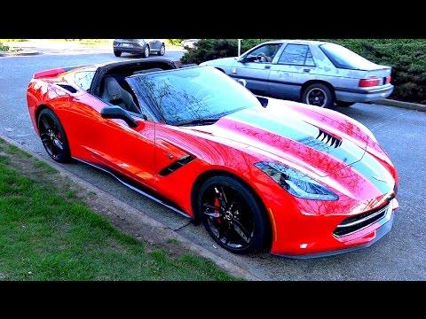 2015 Corvette Stingray Z51 Review (RichKidsTV)