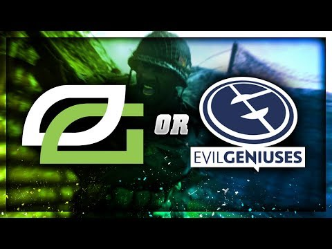 OPTIC GAMING vs EVIL GENIUSES on WWII