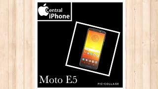 Trocando somente o vidro trincado Moto E5 e Moto E5 Plus