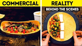 30 TRICKS USED IN FOOD COMMERCIALS REVEALED
