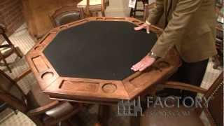 Hillsdale Nassau Gaming Table - Factoryestores.com