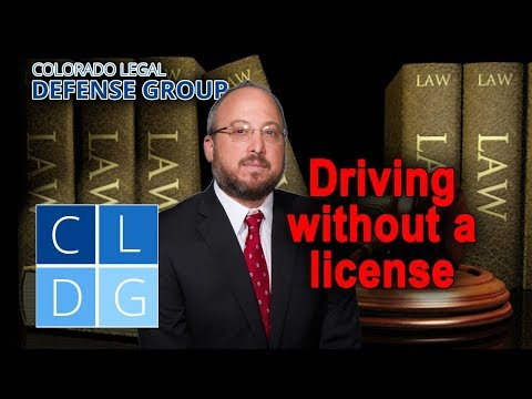 Driving without a license in Colorado – Is it a crime?