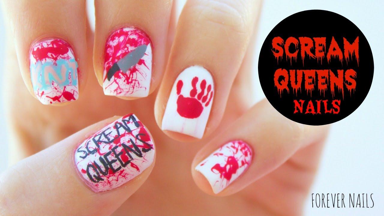 scream queens nails