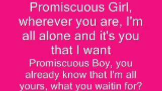 Promiscuous Girl - Nelly Furtado ft. Timbaland (W/LYRICS!)