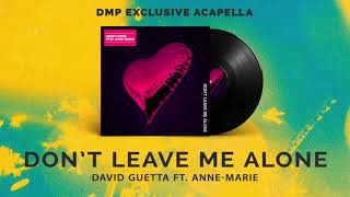 David Guetta Ft. Anne-Marie - Don't Leave Me Alone (Acapella).mp3