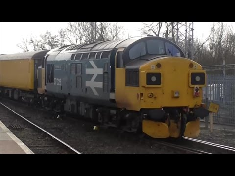 Trains Exeter St Davids Station 22nd 23rd February 2017 Youtube
