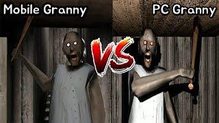 Mobile Granny vs PC Granny    Granny Horror Game - 모바일 그래니 vs PC버전 그래니