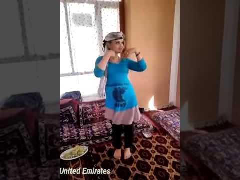 Really video afghan girl home danc