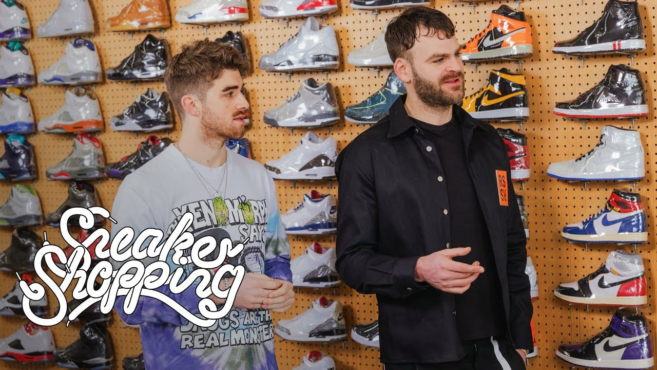 The Chainsmokers Go Sneaker Shopping With Complex