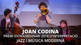 Joan Codina - Premi Extraordinari del Conservatori Liceu de Jazz i Música Moderna 2018