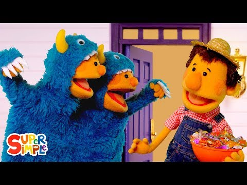 Download Lagu  Knock Knock, Trick Or Treat? | featuring The Super Simple Puppets | Super Simple Songs Mp3 Free