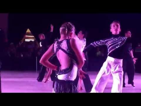 Kristian Evstigneev and Monica Kiselyuk American Star Ball 2016 J1 champ latin