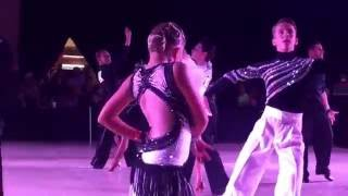 Kristian Evstigneev and Monica Kiselyuk American Star Ball 2016 J1 champ latin