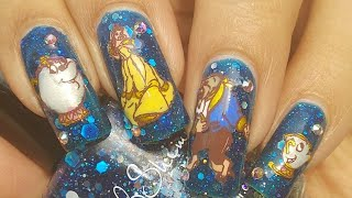Beauty And the Beast Nail Art Tutorial!!! ??