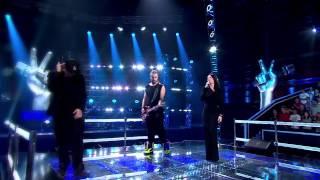 "The Voice of Poland V - Justyna oraz Tomson i Baron – ""Grawitacja"""