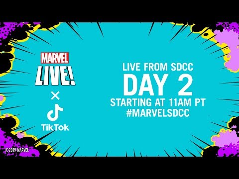 Marvel LIVE from SDCC 2019! | Day 2