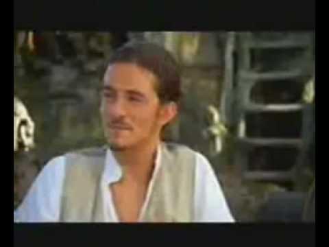BEHIND THE SCENES OF POTC 2: Johnny Depp Orlando Bloom