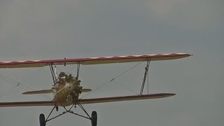 Planes from 1920s perform aerial show in Kenya