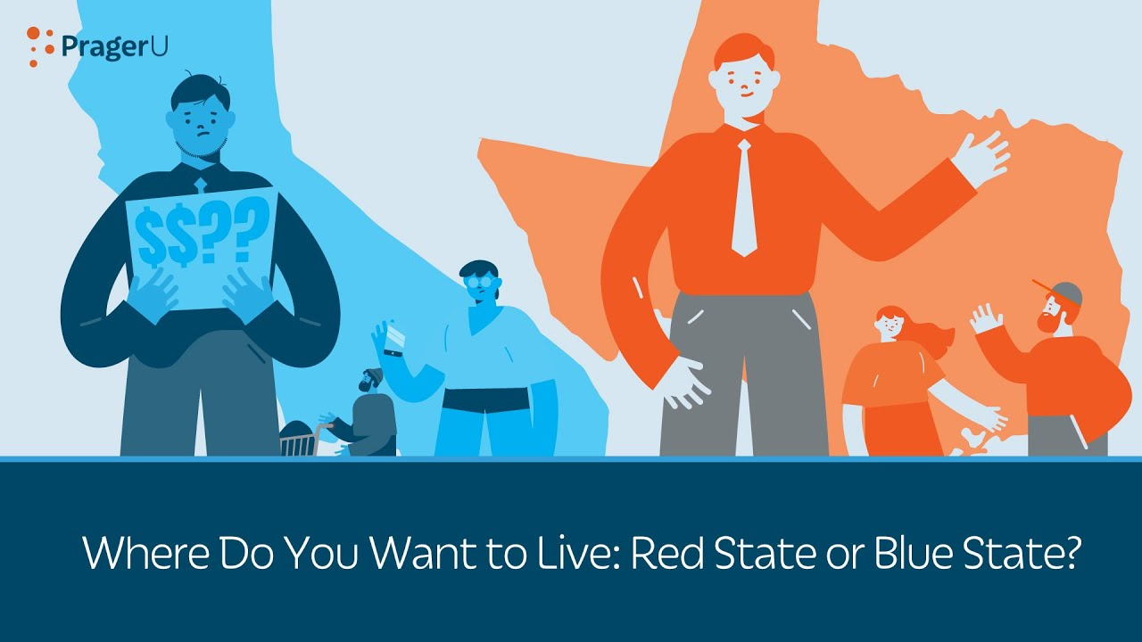 Where Do You Want To Live Red State Or Blue State Youtube How and & where do you pay state income taxes? where do you want to live red state or blue state