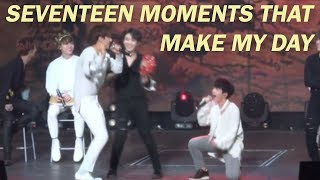 seventeen moments that make my day