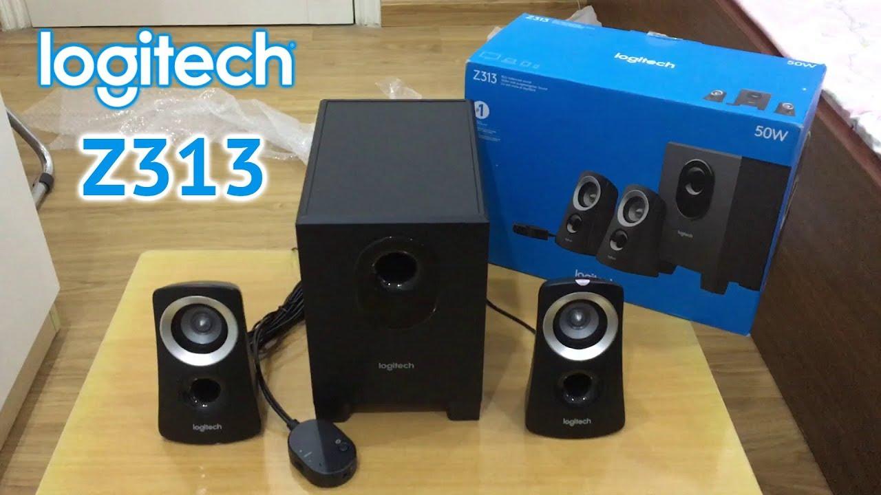 Logitech Z313 Unboxing & Sound Test (Mở hộp & nghe thử loa Logitech Z313)