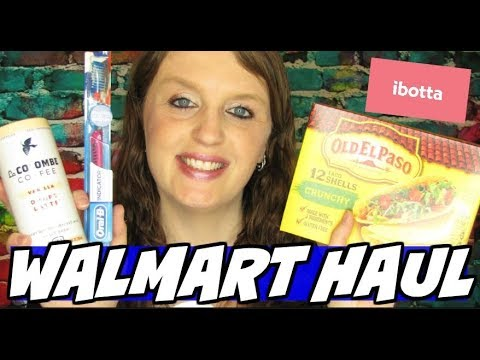 Walmart Ibotta Haul June 4th 2019 - YouTube