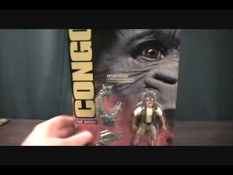 Congo Movie Peter Elliot figure review