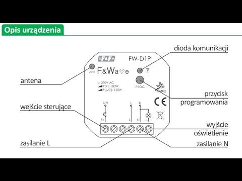 Jak Podłączyć ściemniacz Oświetlenia Dimmer Light Fw D1p