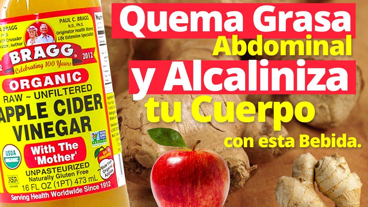Receta para bajar de peso con vinagre de manzana