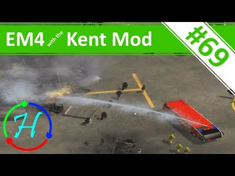 Attack on the Airport! - Ep.69 - Emergency 4 - Kent Mod Continuous Gameplay - Kent Mod v1.2.5