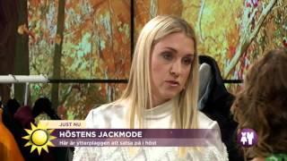 Här är höstens jackmode - Nyhetsmorgon (TV4)