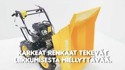 Minidumpperi - puutarhakärry - kottikärry - moottorikärry - dumbberi - maansiirtokone - peräkärry