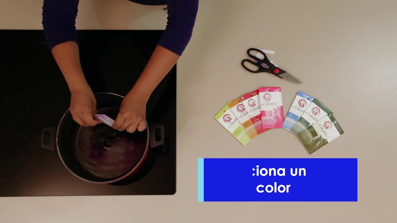 Aprende Cómo Decolorar Y Teñir De Otro Color Tu Ropa Favorita Con Colorantes En Polvo El Caballito Youtube