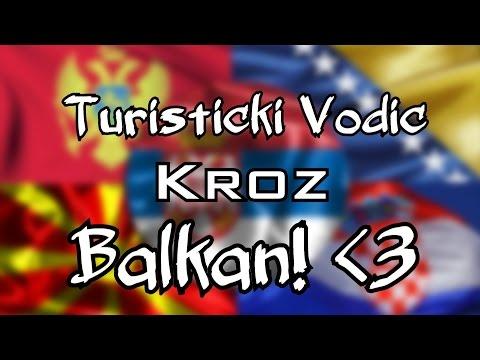 Turisticki Vodic kroz Balkan