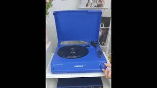 레트로 LP 플레이어 턴테이블 홈바 블루투스 레코드