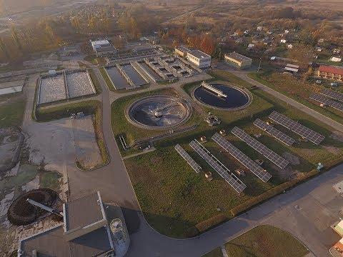 Budowa elektrowni fotowoltaicznej na terenie oczyszczalni ścieków w Szczecinku