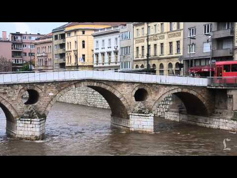 The Latin Bridge in Sarajevo where World War I began: A Minute Away