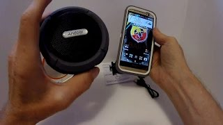 Andoer 5W Wireless Bluetooth 3.0 Outdoor Stereo Speaker