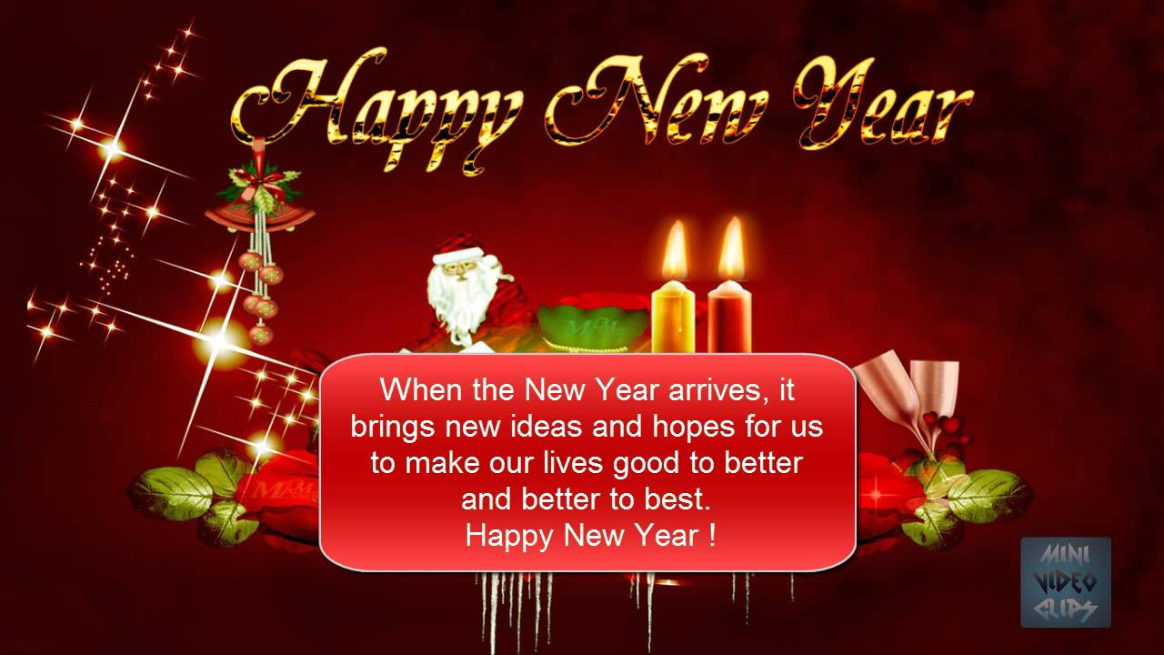 say happy new year 2016 in new style through this new year video youtube