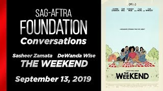Conversations with Sasheer Zamata & DeWanda Wise of THE WEEKEND