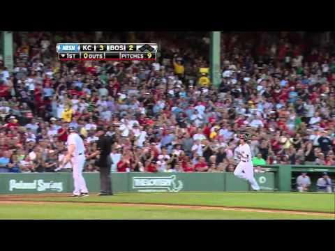 2011/07/27 Pedroia's homer