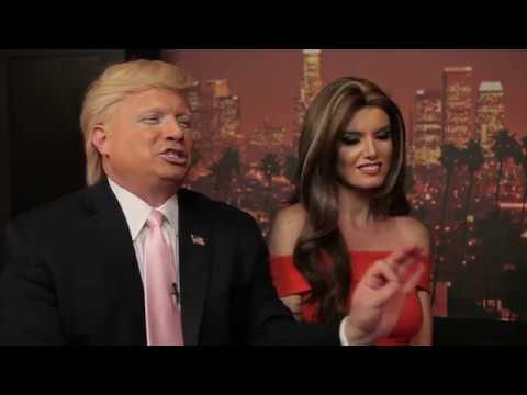 Donald Trump and Melania Trump  Impersonations with John Di Domenico and Eugenia Kuzmina
