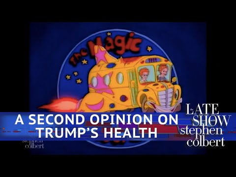'The Magic School Bus' Flies Inside Trump's Body To Confirm 'Excellent' Health