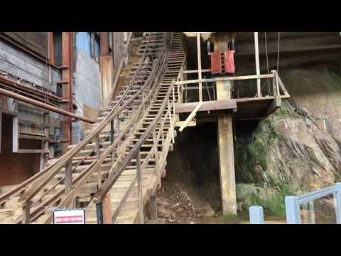 Britannia Mine Guided Tour : Part  4 Inside Mill 3.