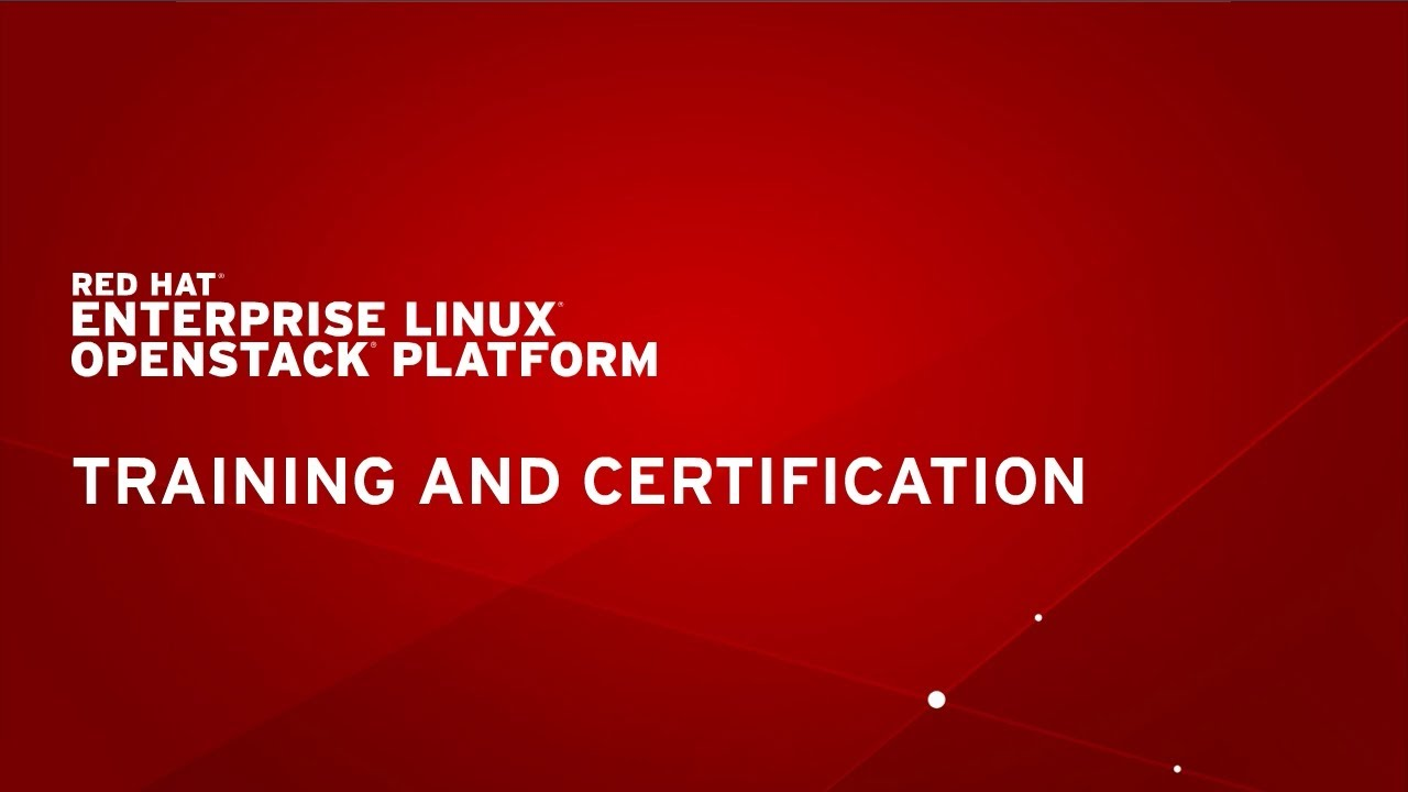 Red Hat Training - Fast Lane