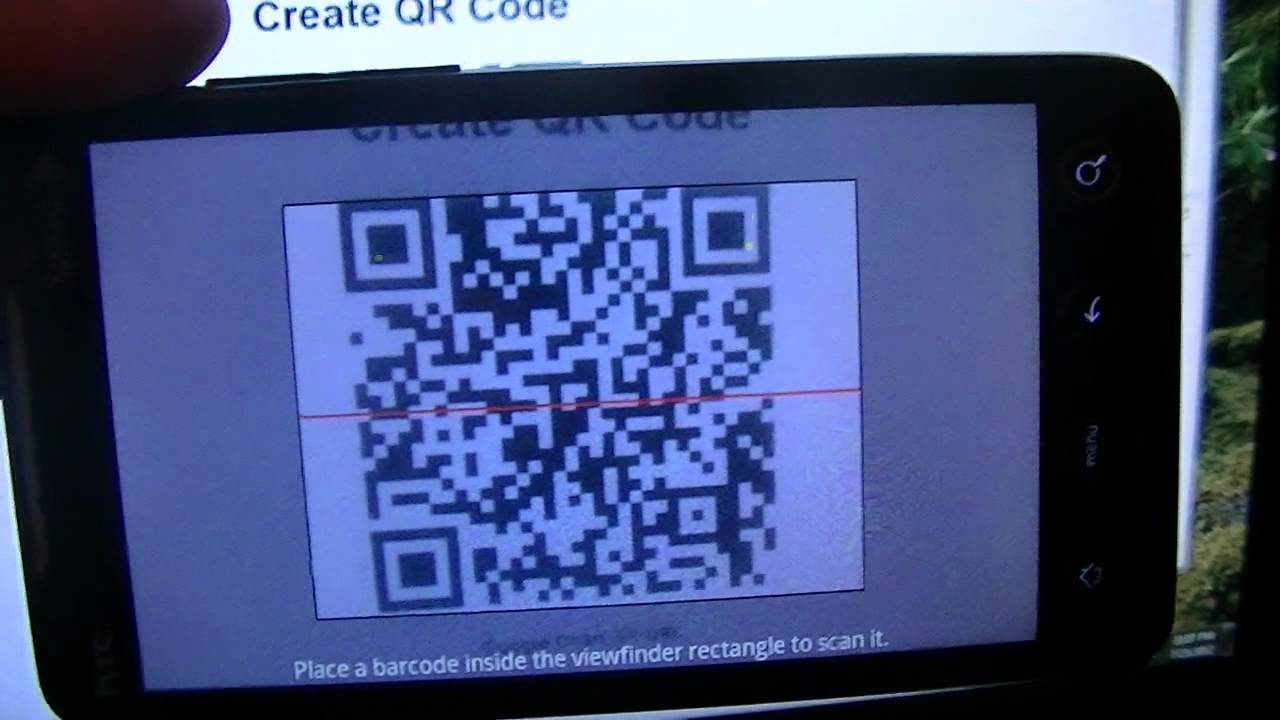 Barcode scanner phonegap example