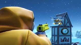 Destroy a Loot Carrier in Different Matches - Week 4 Season 9 Fortnite Challenge Guide