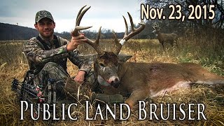 Midwest Whitetail | Iowa Public Land Deer Hunt Using a Decoy