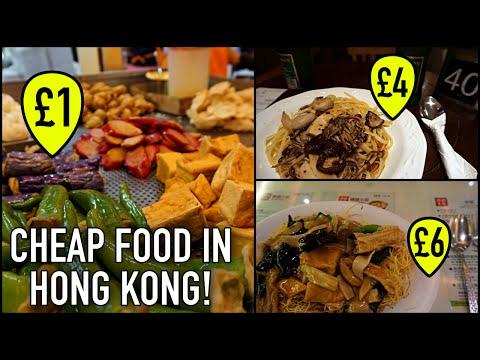 FINDING AMAZING CHEAP FOOD IN HONG KONG!!